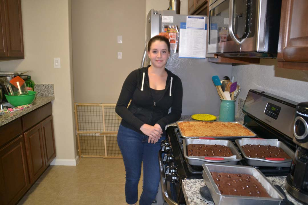 Marine wife bakes up her own delicious career