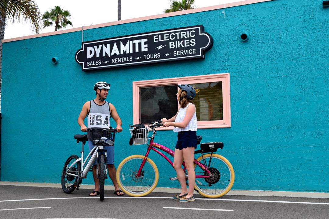 Electric Bike Coaster Tour takes Highway 101 ride to the next level