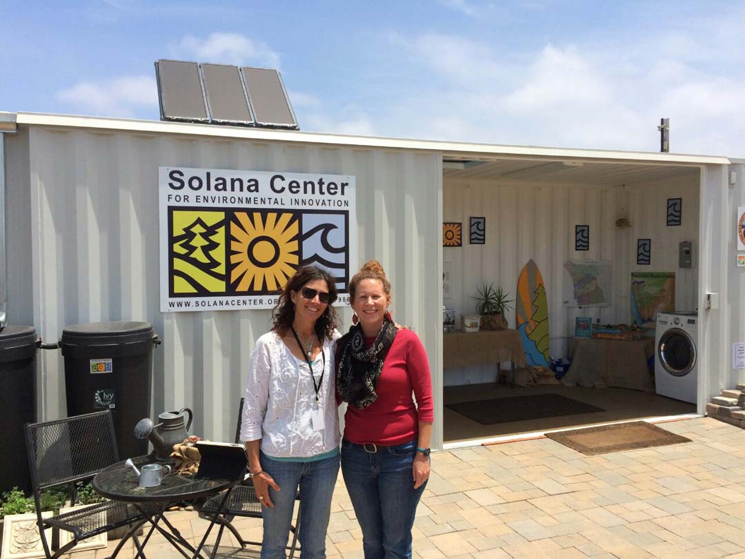 Solana Center's 'Eco Container' espouses sustainable message