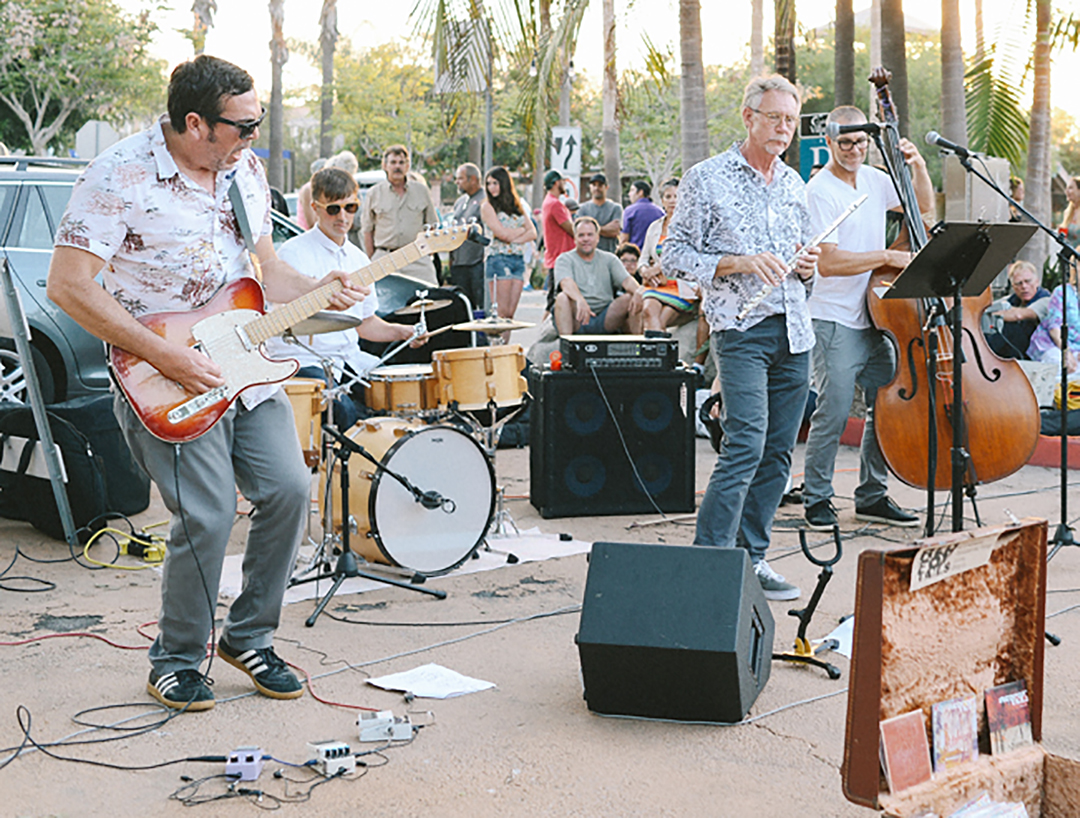 Discover new bands at annual music walk
