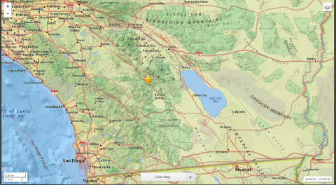 5.2 earthquake rattles county