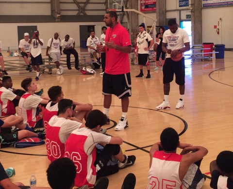 John Wall stresses education, hard work to Dudley campers