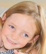 Charlotte M. McCue, 9, of Carlsbad was killed this week in New York when a boat struck her during a family outing on Lake George. Courtesy photo