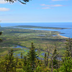 Hikers who endure the steady climb and the black flies on the L'Acadien Trail in Cape Breton Highlands National Park are rewarded with this view.