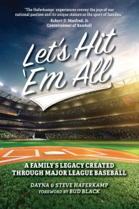 "The book, ""Let's Hit 'Em All,"" is published through Mascot Books. The book was written by Dayna and Steve Haferkamp.                     Courtesy photo"