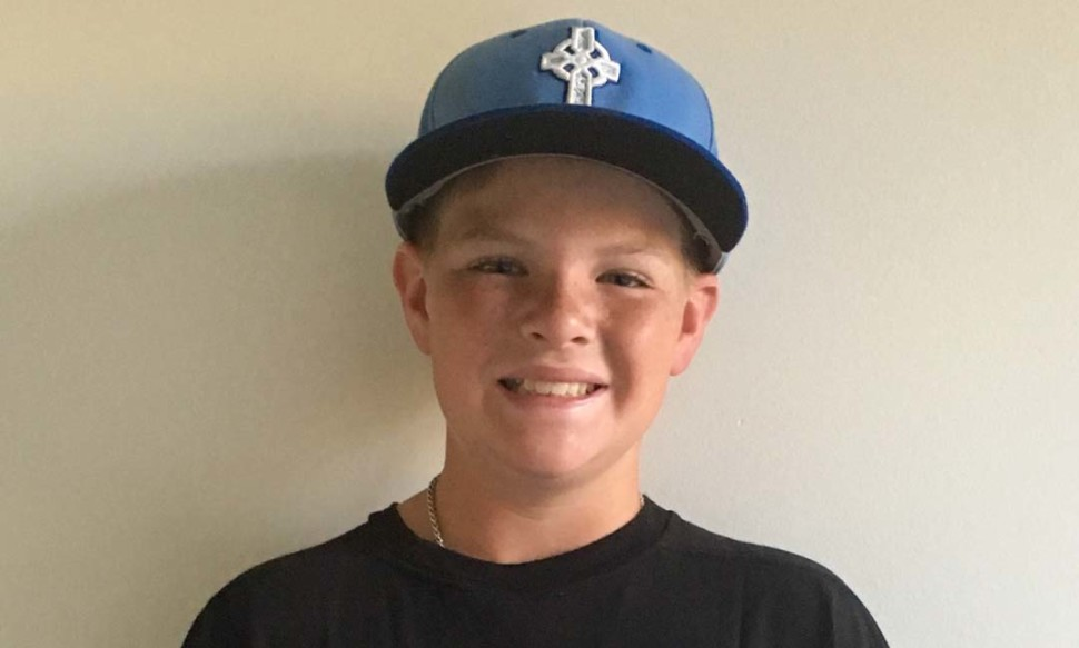 MJ Sweeney is one of 24 12U ballplayers to be selected to play in the Ripken Baseball Future's game powered by Under Armour Aug. 6.  Courtesy photo