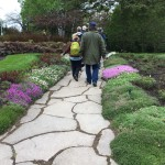 Visitors at Reford Gardens stroll the meandering paths that run through 17 gardens and 44 acres. Each spring, a small army of gardeners plant thousands of seeds, plants and bulbs. The summer growing season is short, but long hours of sunshine at 48 degrees latitude help nurture the plants to maturity.