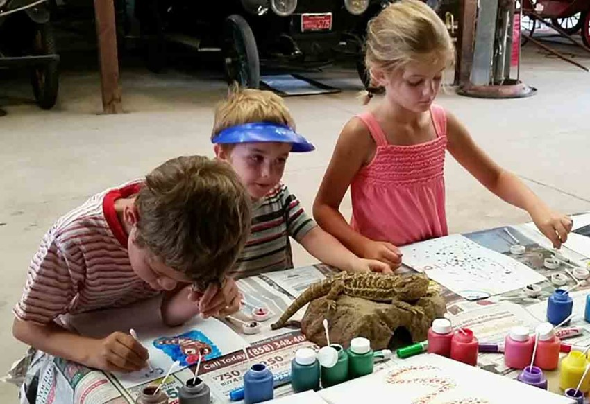 Campers will work with all three groups of animals — reptiles, amphibians and bugs — learning about their influence on humans throughout history. Courtesy photo