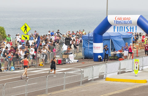 Runners, swimmers and cyclists ready to take Carlsbad