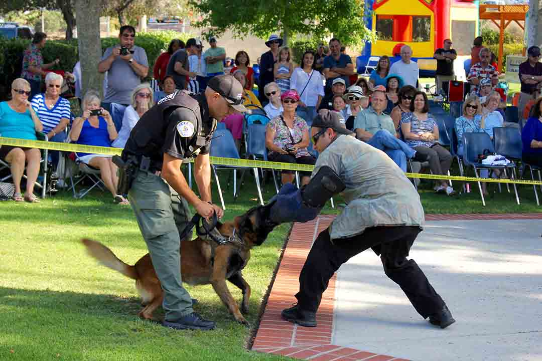Oceanside holds Honor Our Police Day