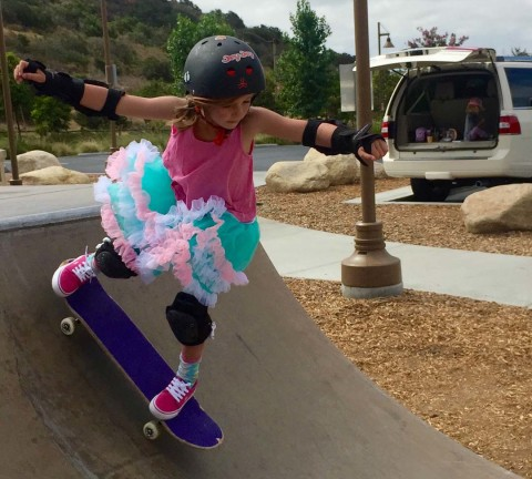 Switching stances: Girls skating into their own