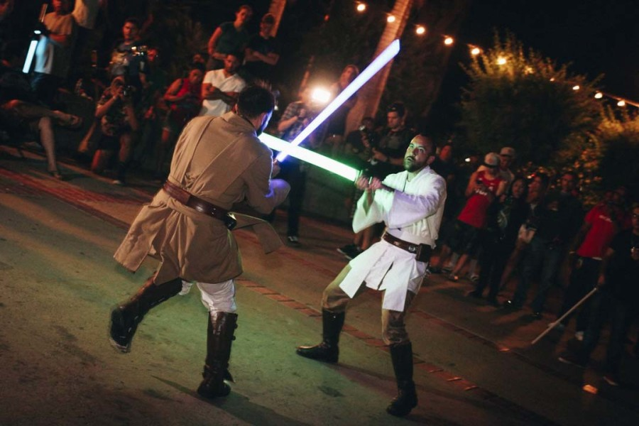 The force is strong with lightsaber groups around county