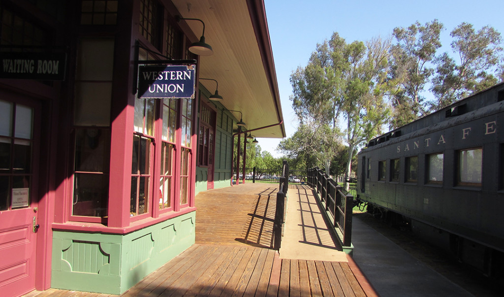 The Santa Fe Depot in Escondido received about $175,000 in improvements from the city recently. It is part of the tour for the Escondido History Center. Photo by Steve Puterski