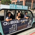Free shuttle rides are available in downtown San Diego daily starting at 7 a.m. from FRED (Free Rides Everywhere Downtown). The service hopes to alleviate parking problems and bring more visitors to the area.