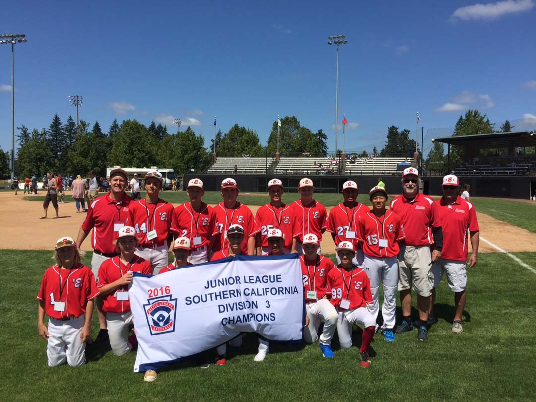 Encinitas Little League Junior team making another run