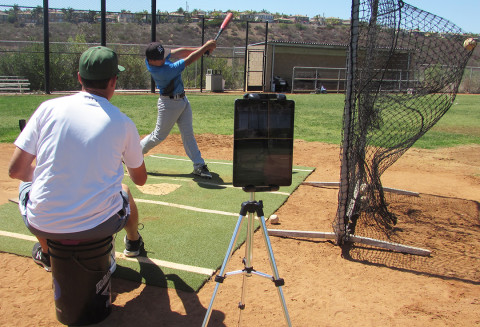 Carlsbad high schools use app to improve swings