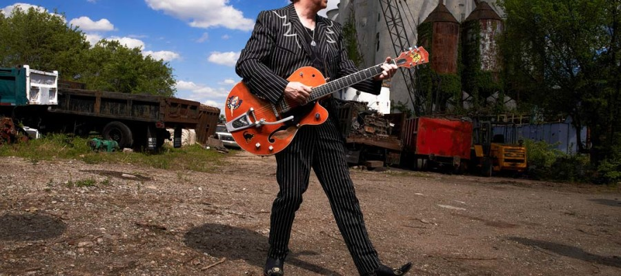 Brian Setzer still strutting his rockabilly style