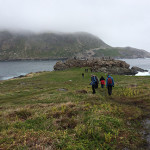 """Beautiful trails are the reward for those who visit out-of-the-way Saint Pierre, off the coast of Newfoundland. The island is an """"overseas collectivity"""" that belongs to France, where French is the first language and the Euro is the currency. Courtesy photo"""