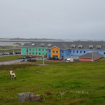 This relatively new hospital in Saint Pierre is as colorful as the homes in the town of 6,000. Specialists are sometimes flown in, but patients who need complicated care are flown elsewhere. Courtesy photo