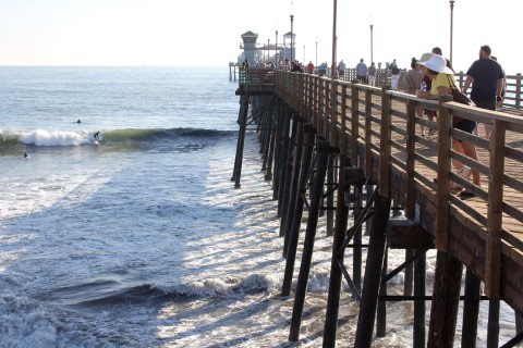 Annual pier maintenance work begins