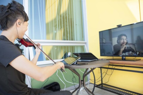 Gig Life illustrated in Cox home of the future