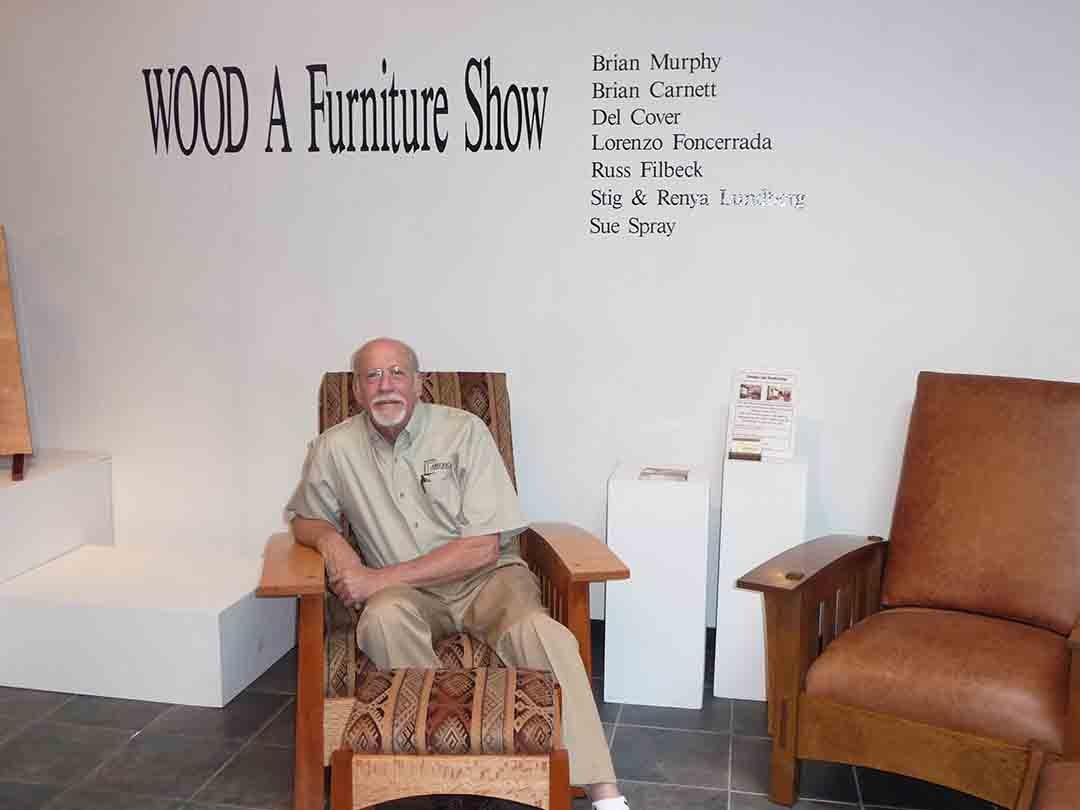 """Brian Murphy of Murphy's Fine Woodworking, along with the Escondido Art Partnership and others are hosting the eighth annual """"Wood: A Furniture Show VIII,"""" beginning Jan. 13, 2017. Courtesy photo"""