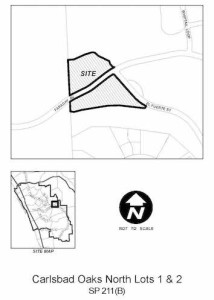 SP211(B) Carlsbad Oaks North Lots 1 & 2-map