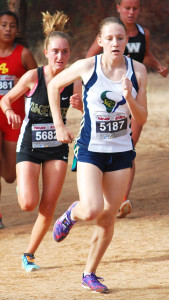 La Costa Canyon High School sophomore Jessica Riedman is one of the top runners in the state. Courtesy photo