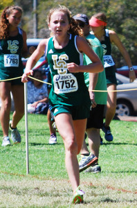 Kristen Fahy, a sophomore at La Costa Canyon High School, is the top 10th grade runner in the state at 2.75 miles. Courtesy photo