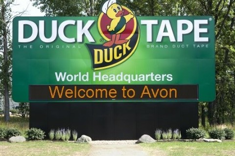 Duct tape factory tour highlights function, fashion and fun