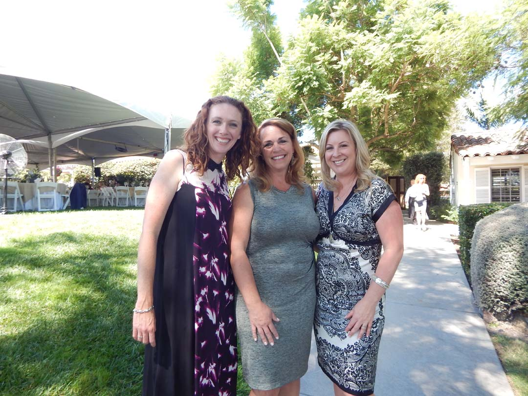 Erin Kaminski, Rhonda Tryon and Kimberly Black attend The Country Friends' annual Art of Fashion event. Photo by Christina Macone-Greene