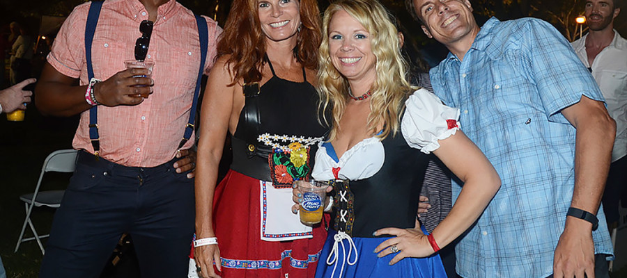 Hoist a stein at annual Oktoberfest