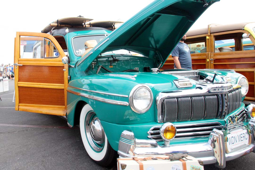 Wavecrest, the granddaddy of all woodie meets was held on Saturday at Moonlight Beach in Encinitas, CA. Wavecrest is the longest running and largest gathering of woodies in the world.