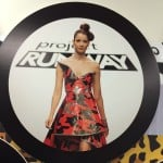 This dress, fashioned from Duck Tape, was the winner of Episode 11 (2013) of the television reality show Project Runway. Contestants compete to be the next hot designer. [Courtesy photo]