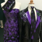 This prom ensemble, made of Duck Tape, goes beyond just the dress and the tux. This dress, fashioned from Duck Tape, was the winner of Episode 11 (2013) of the television reality show Project Runway. Contestants compete to be the next hot designer. [Courtesy photo]