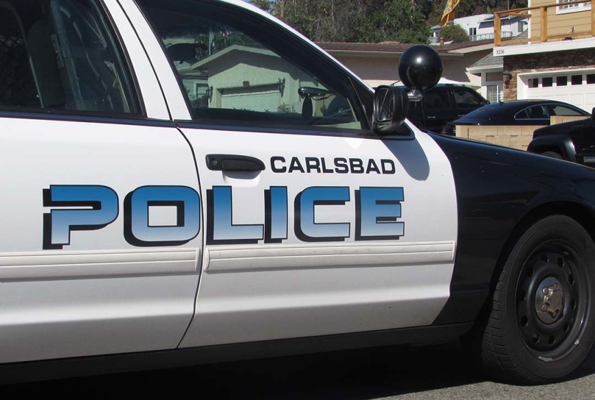 Carlsbad police arrested a Chula Vista man Thursday accused of kidnapping and forcing an Escondido man to perform sex acts at gunpoint. Photo by Steve Puterski