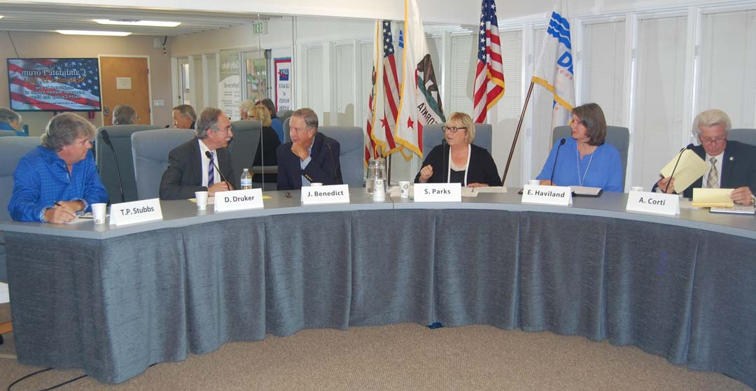 Del Mar candidates share views on variety of topics
