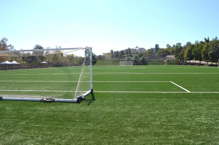 It appears the soccer field at Leo Mullen Sports Park in Encinitas will get lights following a City Council vote on Wednesday. Photo by Tony Cagala