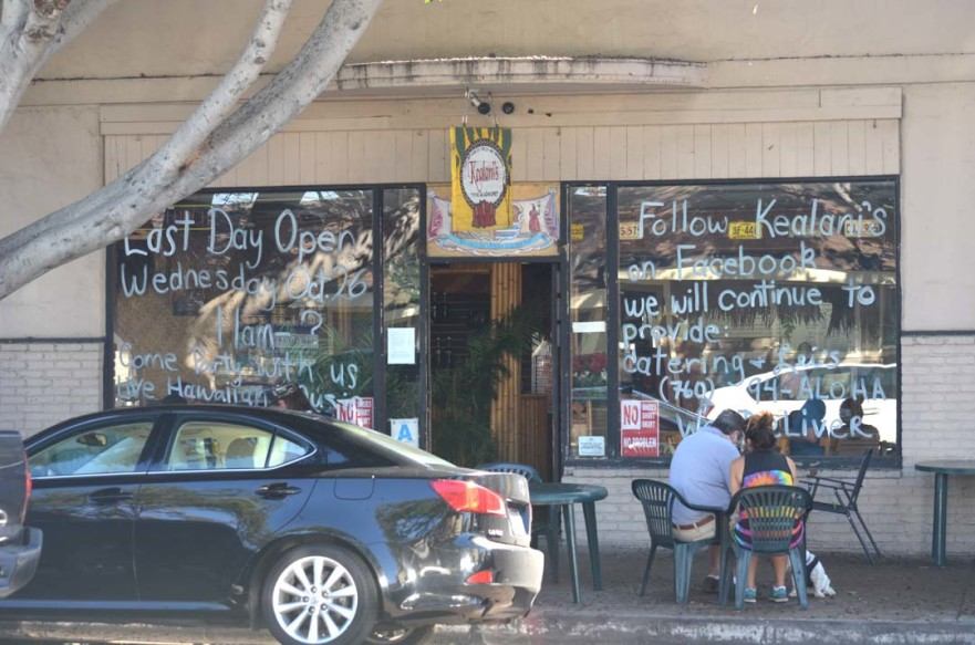Patrons eat at Kealani's on Tuesday afternoon. The longtime restaurant will be closing Oct. 26 with a farewell celebration from 2 to 4 p.m. Wednesday. Photo by Tony Cagala