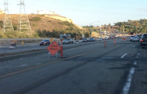 Traffic improvement projects nearing completion