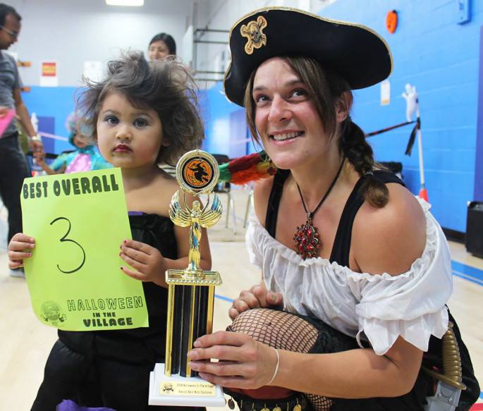 """Vice President of Carlsbad Causes for Community (C3) Deb Ferraro, right, will host the organization's fourth annual """"Halloween in the Village""""  Saturday from 2 to 6 p.m. at 2801-B Roosevelt Street. Courtesy photo"""