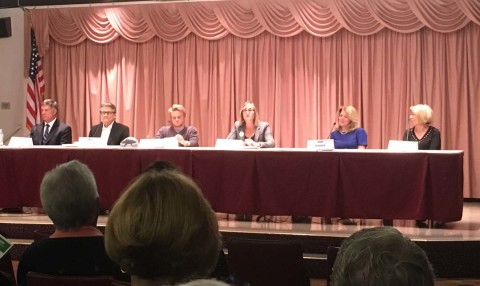 Challengers call for new, fresh council at forum