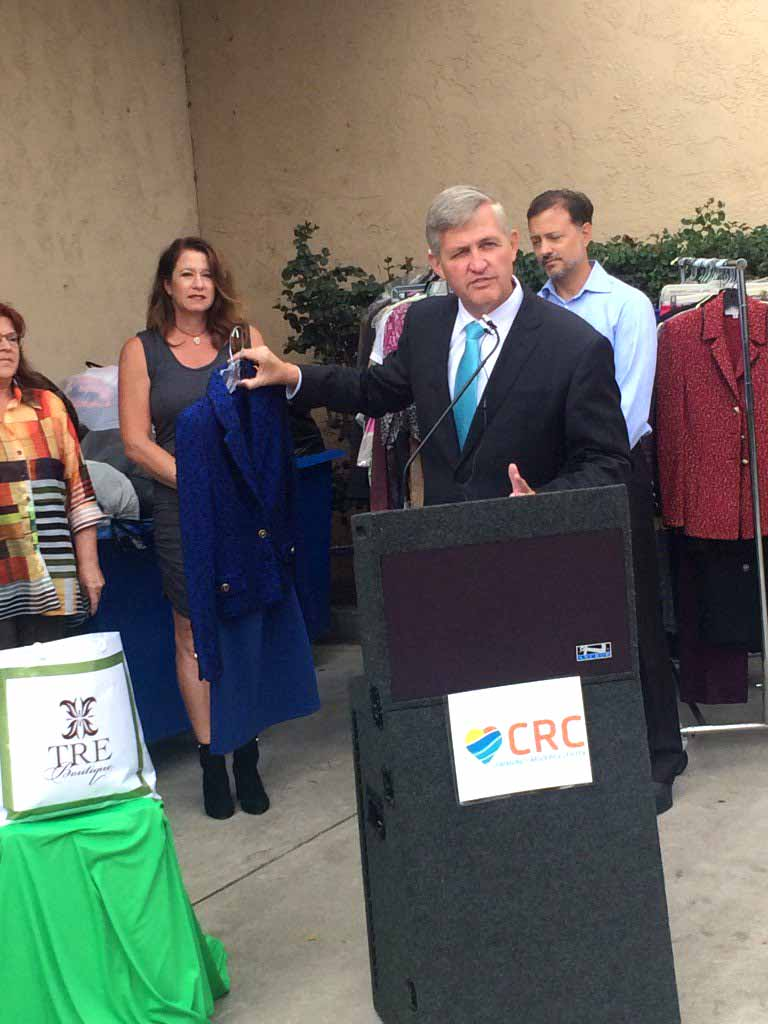 Encinitas boutique donates thousands of clothes to CRC