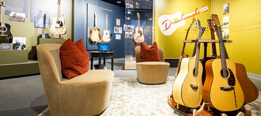 Iconic guitar celebrates 100th anniversary at Museum of Making Music