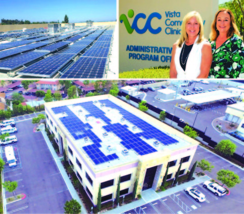 Vista Community Clinic celebrates new solar PV installation