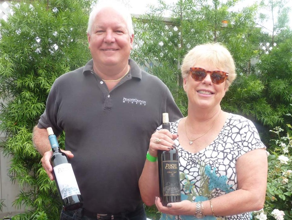 Taste of Wine: Meet Peachy Canyon and Benziger from the Wine & Roses Tasting
