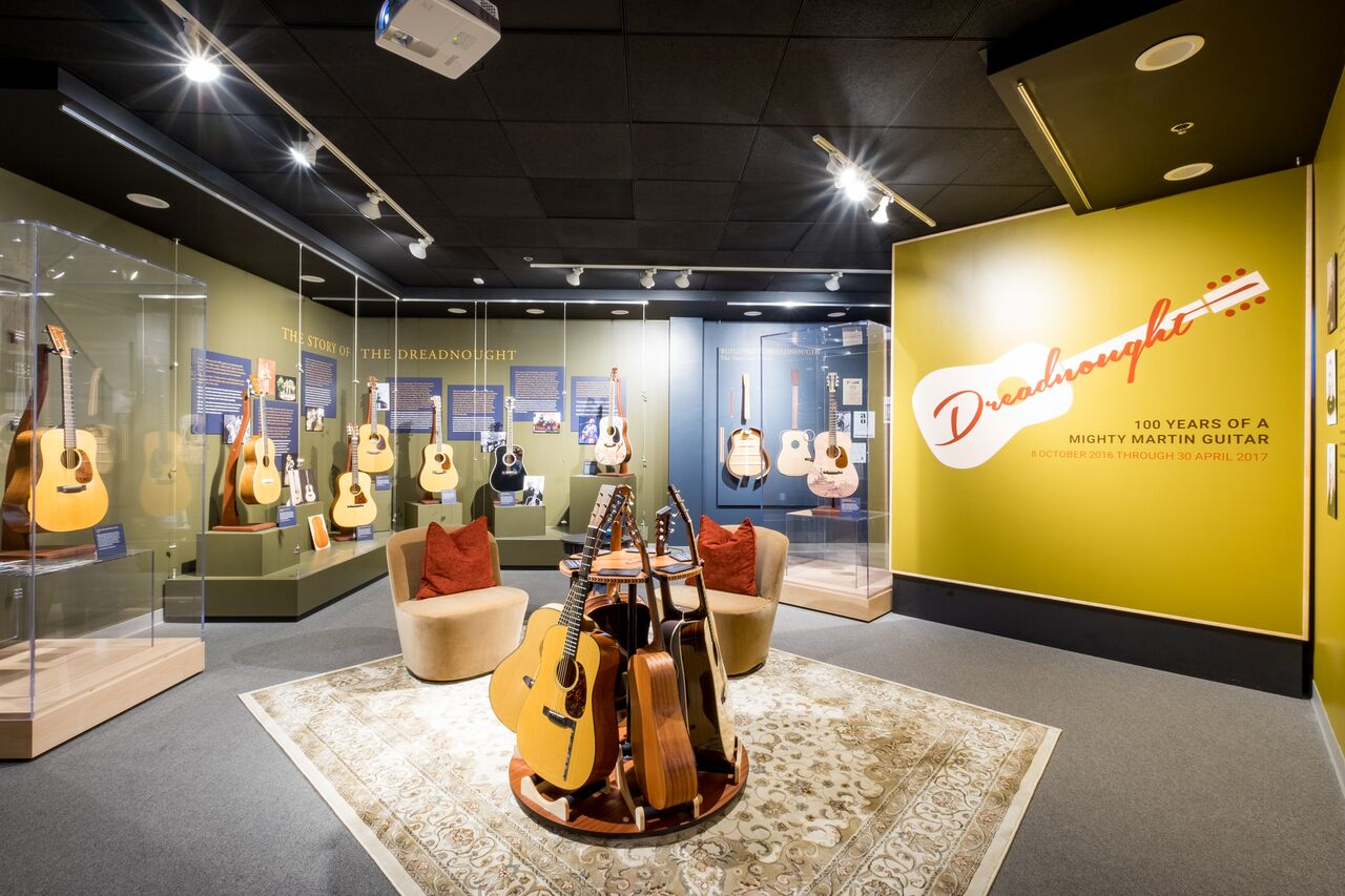 Rare guitar collection makes only U.S. appearance at Museum of Making Music