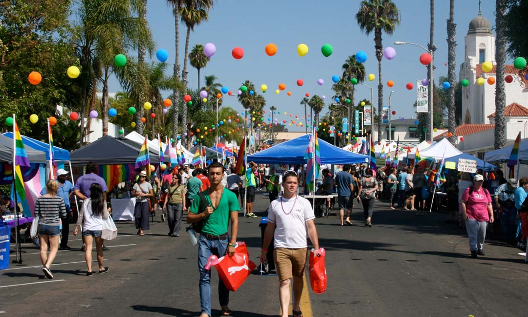 Oceanside will be full of Pride this Saturday