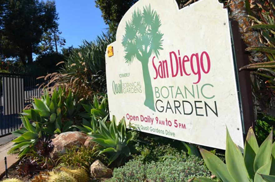 The San Diego Botanic Garden is receiving $2.1 million from San Diego County to go towards remodeling projects and the construction of an administration building and maintenance facility.  File photo
