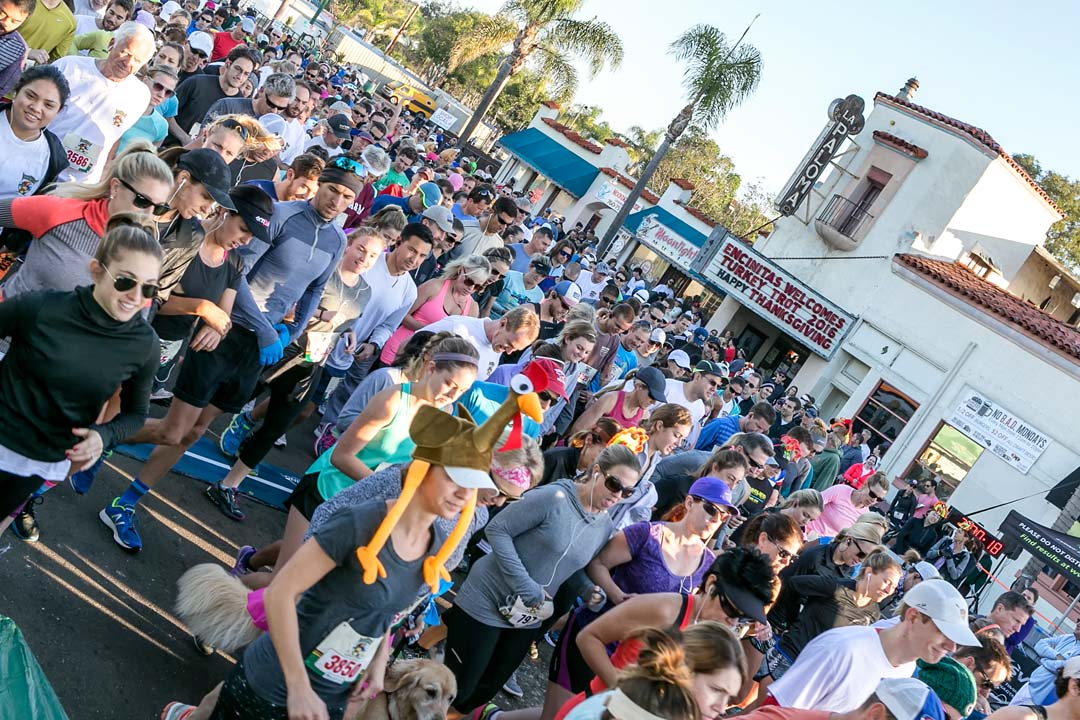Encinitas Turkey Trot continues to grow